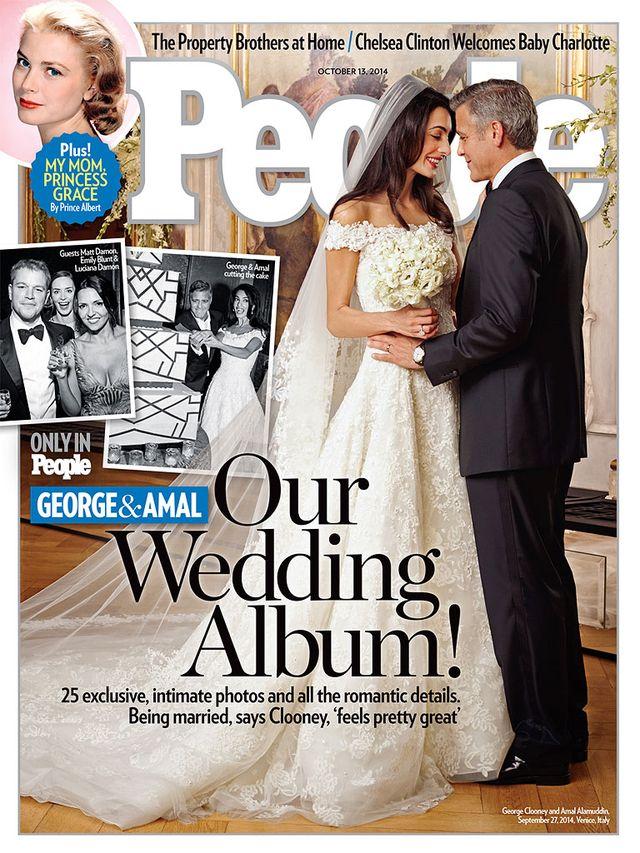 Są pierwsze zdjęcia sukni ślubnej żony Georgea Clooneya!