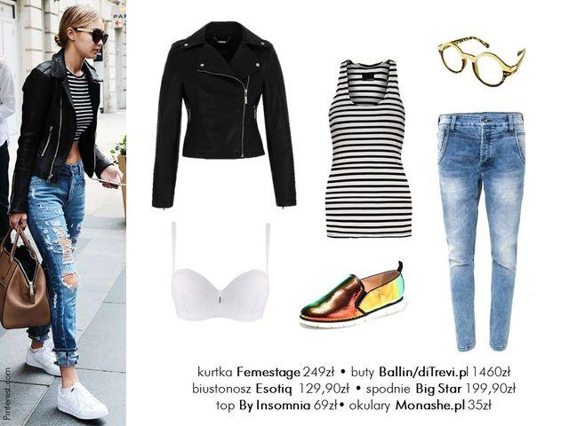 Moda na lato - 5 stylizacji w stylu Gigi Hadid (FOTO)