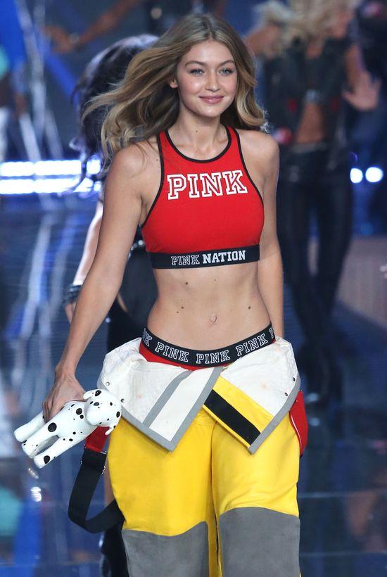 Gigi Hadid zachwyciła na pokazie Victoria's Secret 2015