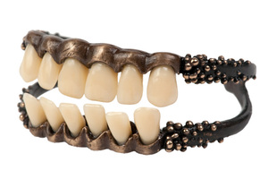 Lady Gaga bransoletka na zębach