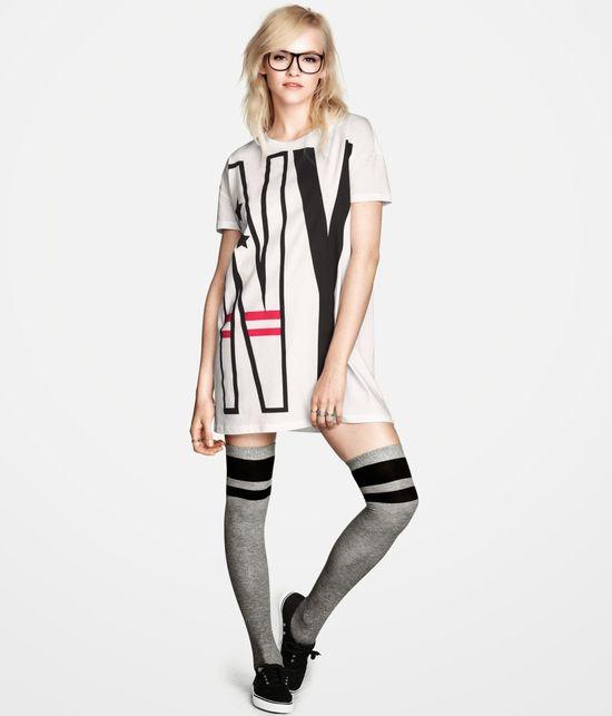 Ginta Lapina w kolejnym lookbooku H&M jesień 2013