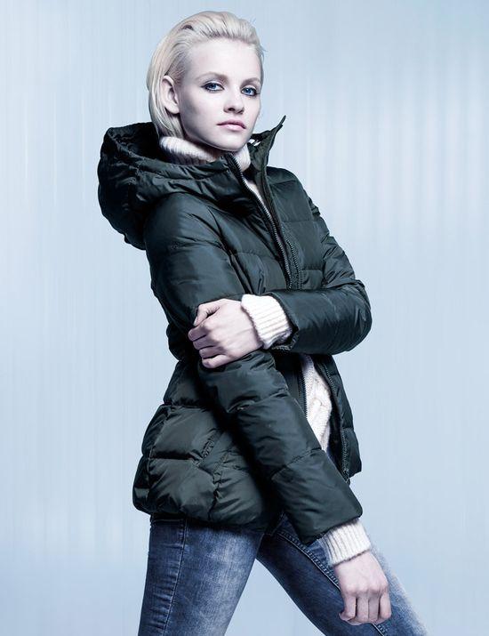 Ginta Lapina w lookbooku H&M Cold Days