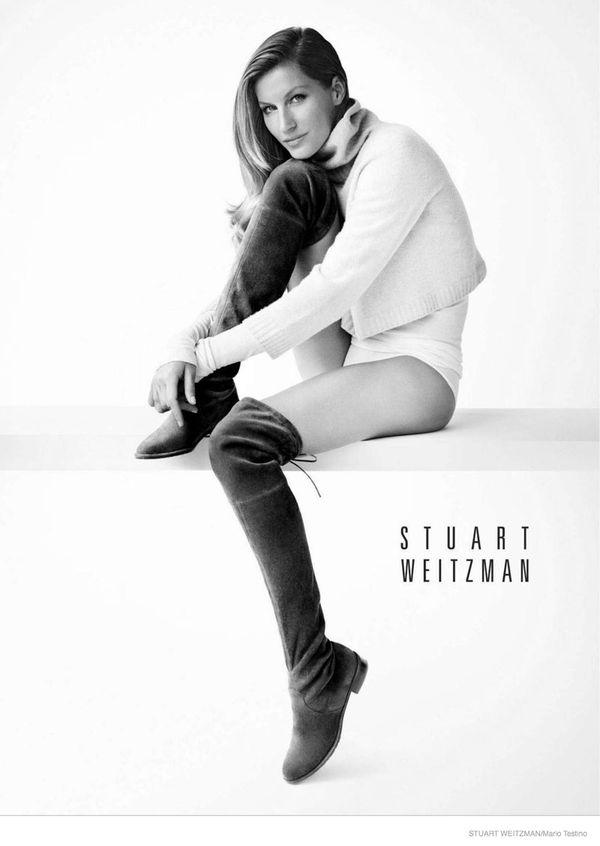 Gisele Bundchen buty reklamuje w... majtkach (FOTO)