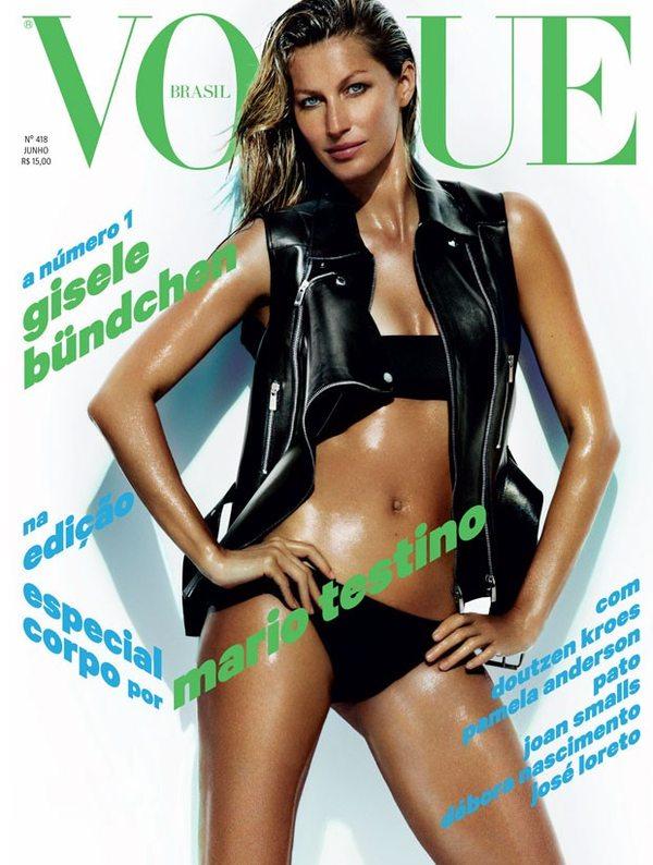 Kolejna okładka Vogue w karierze Gisele