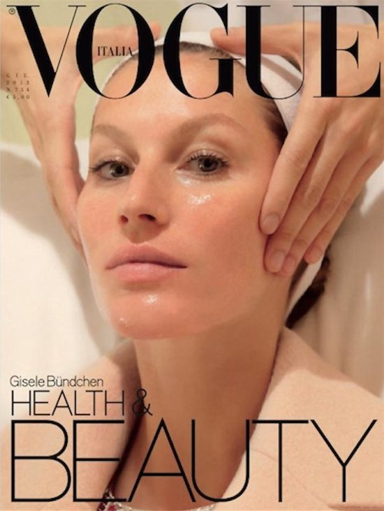 Gisele na dwóch okładkach Vogue Italia