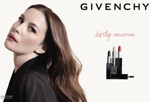 Kolekcja kosmetyczna Liv Tyler dla Givenchy