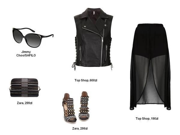 Stylizacje w klimacie glam rock