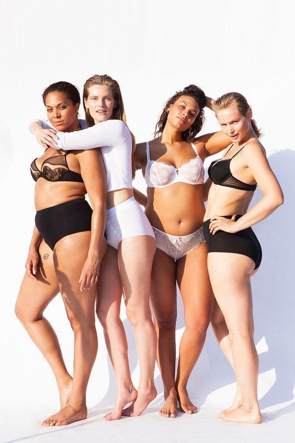 Nagie modelki plus size w Glamour Iceland (FOTO+VIDEO)