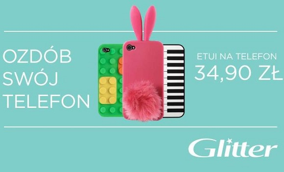 Bunny Glitter – zabawny pokrowiec na telefon
