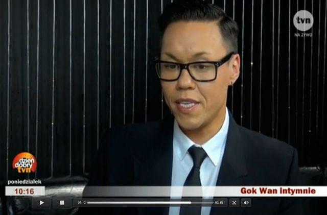 Gok Wan: Nienawidziłem swojego wyglądu! Ważył ok. 130 kg