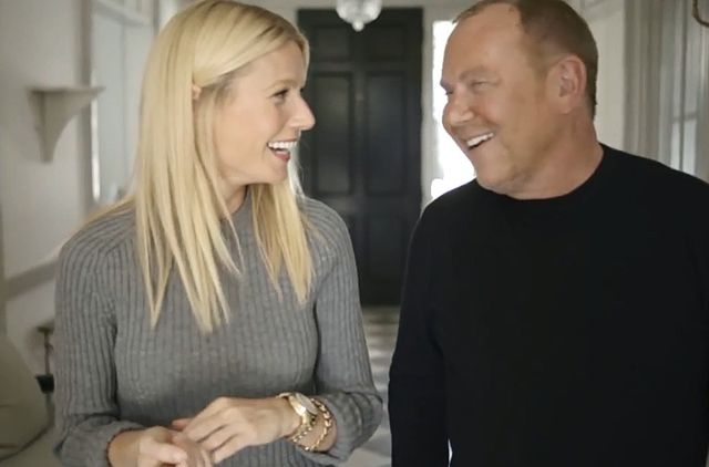 Kolekcja Michaela Korsa i  Gwyneth Paltrow (FOTO+VIDEO)