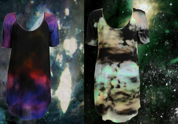 Kosmiczna sukienka od Goota