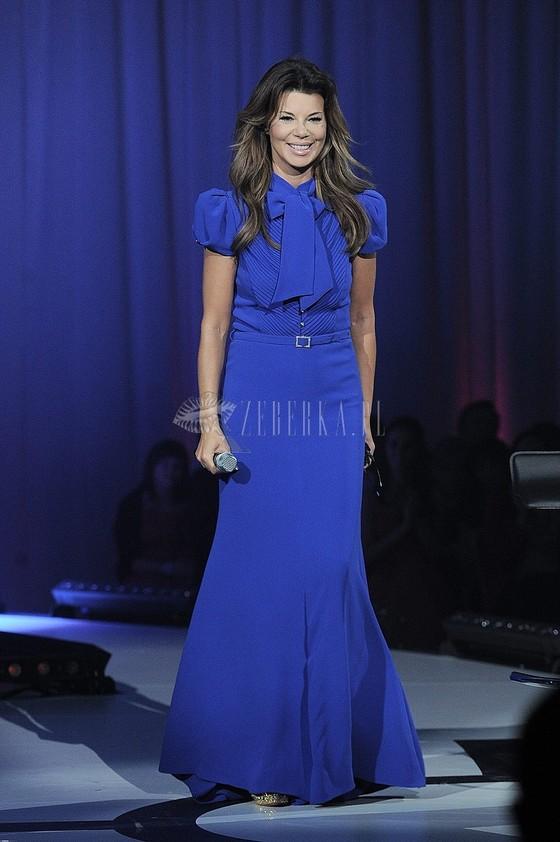 Stylizacje Edyty Górniak na gali Miss Polonia 2013