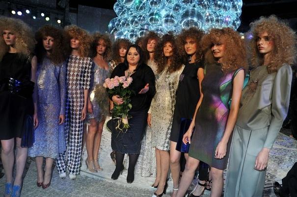 Gosia Baczyńska zamknęła paryski Fashion Week
