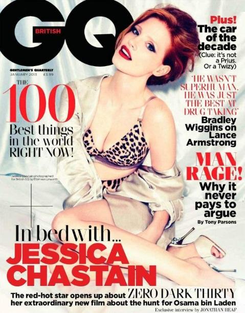 Gwiazdy na styczniowych okładkach magazynu GQ