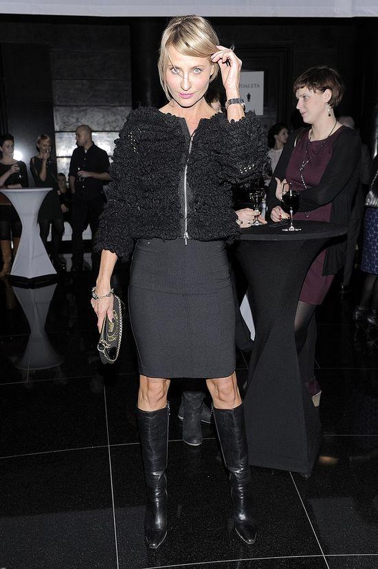 Gwiazdy w czerni na imprezie magazynu Grazia (FOTO)