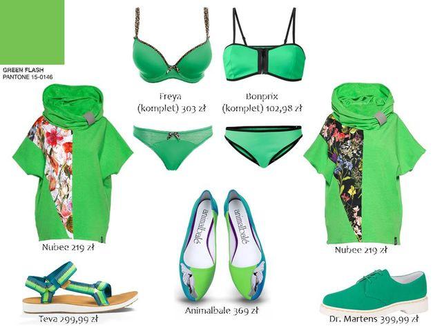 Stylizacje w kolorach Pantone - TE kolory będą modne na lato 2016