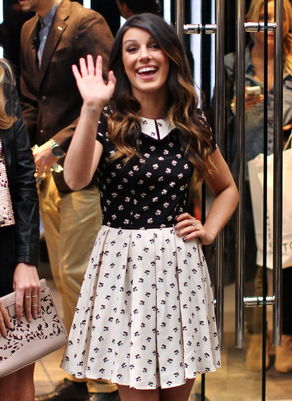 Shenae Grimes w sukience TopShop