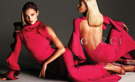 Anja Rubik i Karmen Pedaru w kampanii Gucci (FOTO)