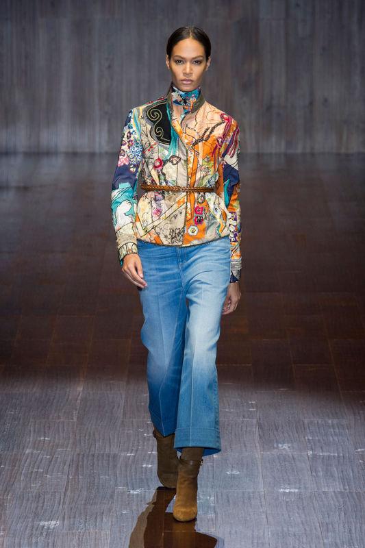 Gucci wraca do lat 70-tych! (FOTO)