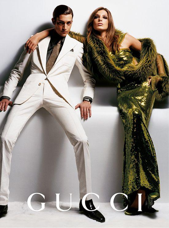 Daria Werbowy w kampanii Gucci jesień 2014