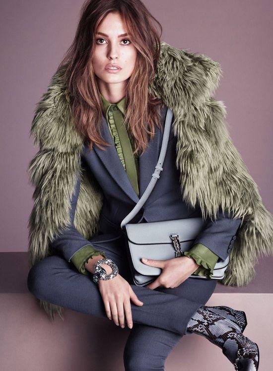 Gwiazdy modelingu w jesienno-zimowej kampanii Gucci!