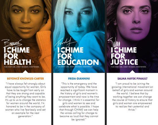 Gwiazdy w kampanii Chime for Change (FOTO)
