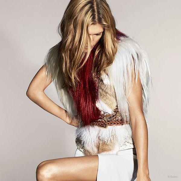 37-letnia Małgosia Bela gwiazdą kampanii Gucci! (FOTO)