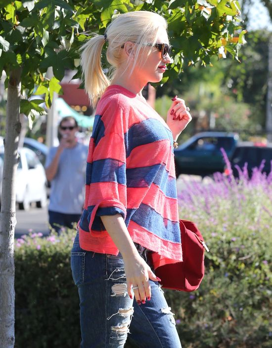 Gwen Stefani w swoich ulubionych jeansach (FOTO)