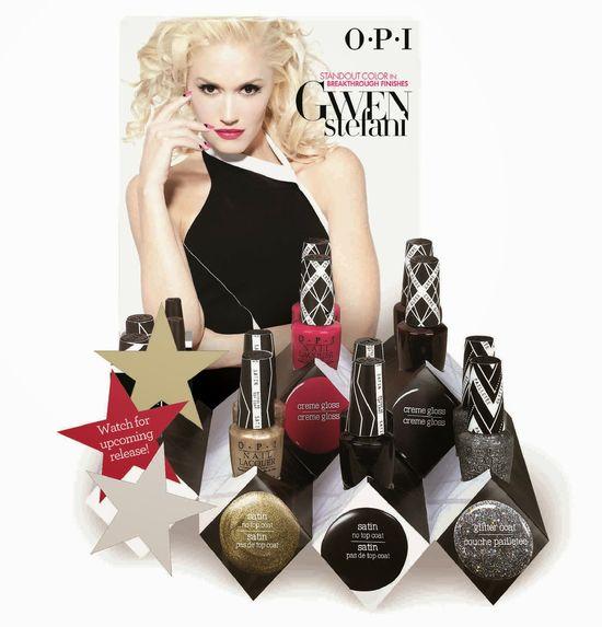 Gwen Stefani dla OPI (FOTO)