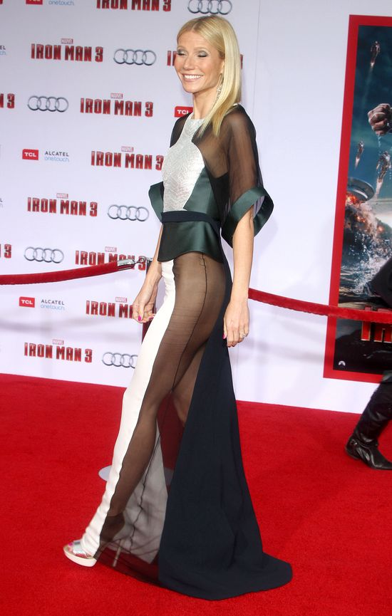 Gwyneth Paltrow zachwyciła na premierze filmu Iron Man 3