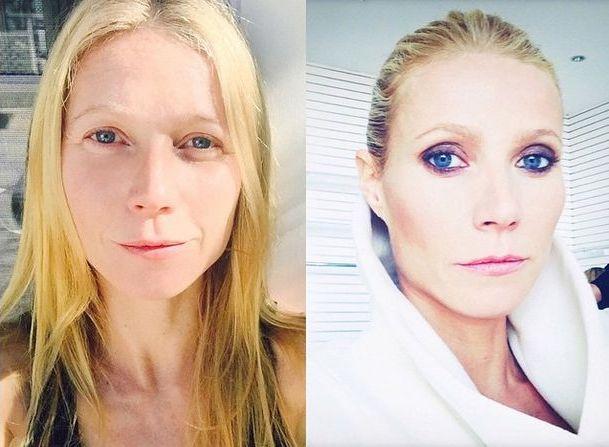 Gwyneth Paltrow zaryzykowała i pokazała się bez makijażu!