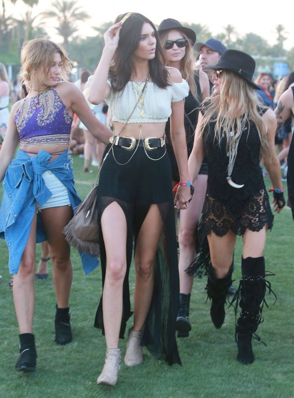 Festiwalowe stylizacje gwiazd - Coachella - dzień drugi