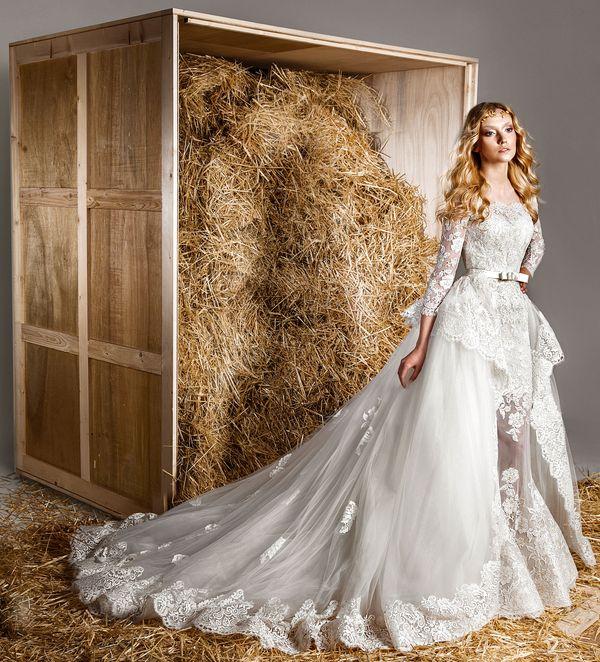 Przepiękne suknie ślubne Zuhaira Murada na 2015 rok (FOTO)