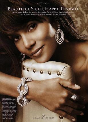 Halle Berry reklamuje diamenty