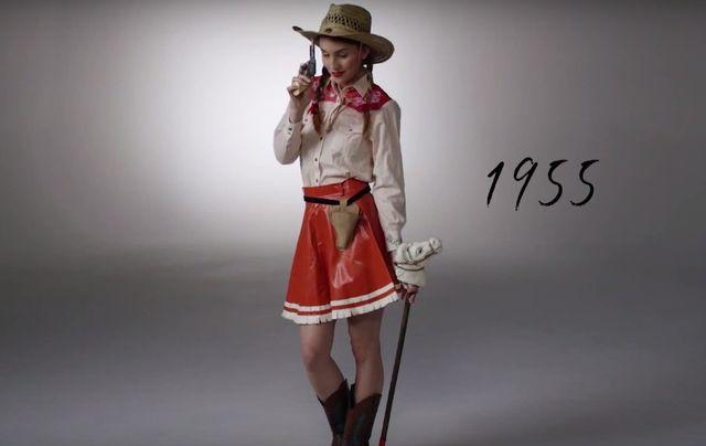 100 lat halloweenowej mody w 3 minuty (VIDEO)