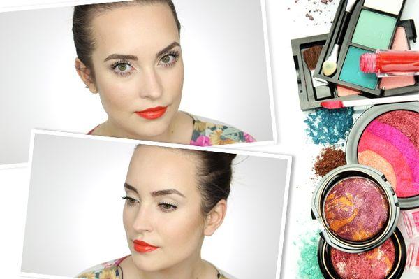 Krok po kroku - wiosenny makijaż wg Hani Knopińskiej