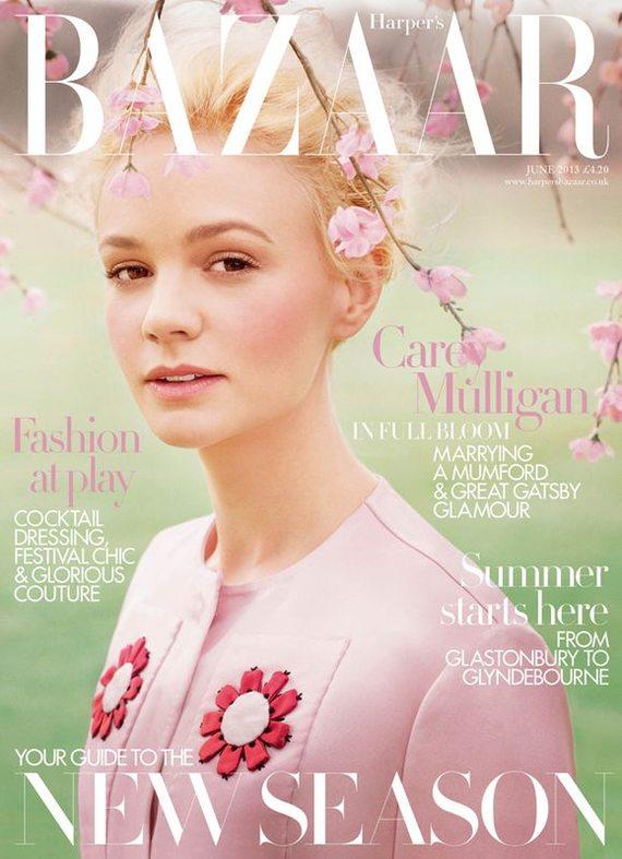 Carey Mulligan dla Harper's Bazaar