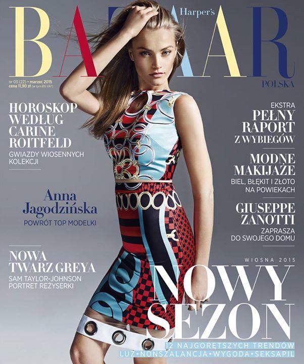Harper's Bazaar zaskakuje okładką z Anną Jagodzińską (FOTO)