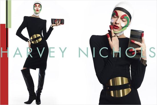 Daga ZIober w kampanii Harvey Nichols (FOTO)