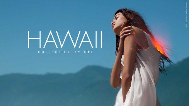 Wiosenno-letnia kolekcja lakierów do paznokci OPI - Hawaii