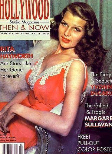 Sekrety urody gwiazd: Rita Hayworth