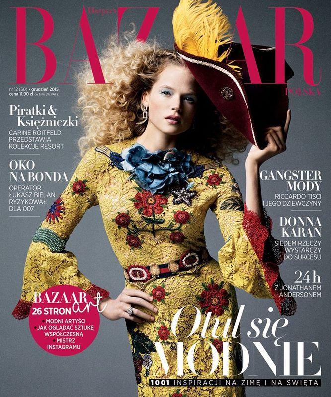 Już jest! Gorące grudniowe wydanie Harper's Bazaar