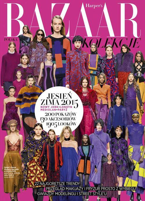 Październikowe wydania Harper's Bazaar!