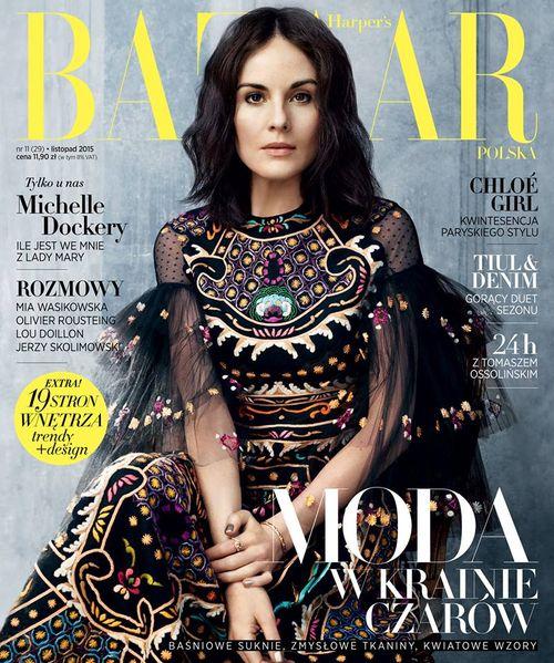 Już jest listopadowe wydanie magazynu Harper's Bazaar!