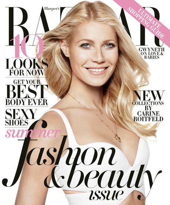 Gwyneth Paltrow w Harper's Bazaar i dla Max Factor