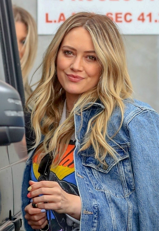Wygląda na to, że Hilary Duff pożegnała się ze swoim platynowym blondem!