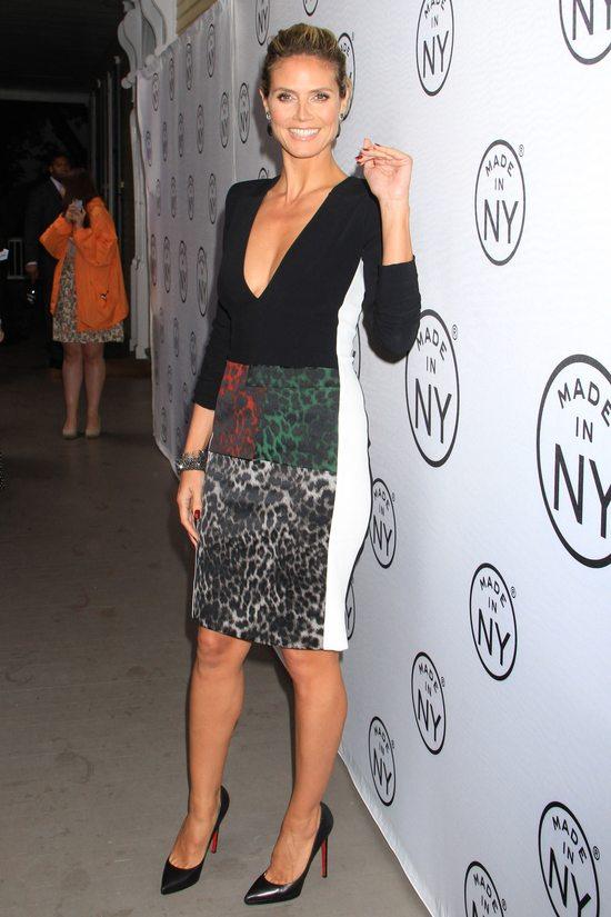 Heidi Klum w sukience marki Roland Mouret (FOTO)