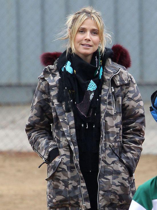 Naturalna Heidi Klum w wersji moro (FOTO)