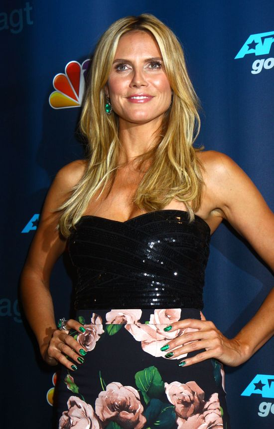 Heidi Klum vs Mel B w programie America's Got Talent